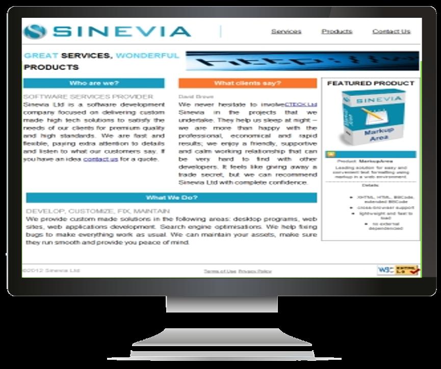 Sinevia.com - Home Page