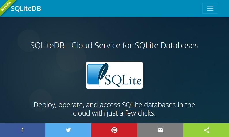 SQLiteDB   Website