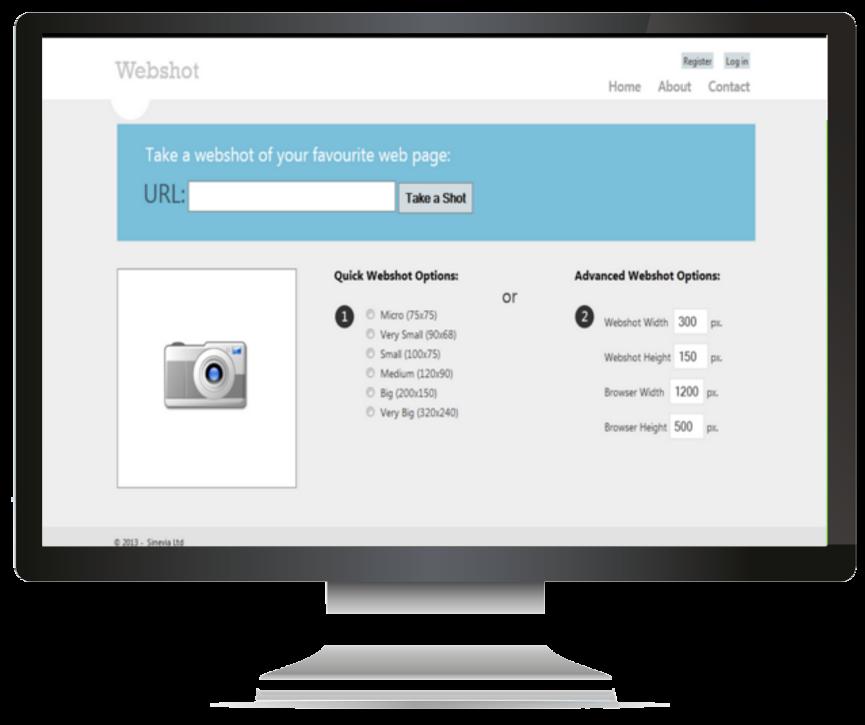 Webshot - Configuration Options